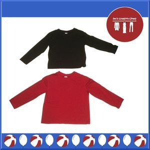 Boys Target Brand Red and Black Sleepwear Shirts